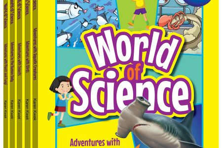 World of Science Comics (Set 1)  Adventures with Birds; Adventures with Insects; Adventures with Plants and Fungi; Adventures with Aquatic Creatures; Adventures in the Human Body;
