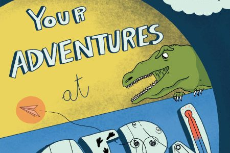 Are You Ready for the Adventure at CERN?  Here the Hero is You, Play and Create Your Story